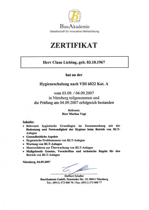 Ihr Kaminfeger.de - Claus Liebing